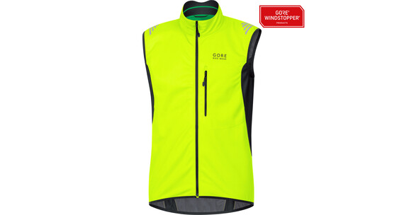 GORE BIKE WEAR Element WS SO bodywarmer Heren geel